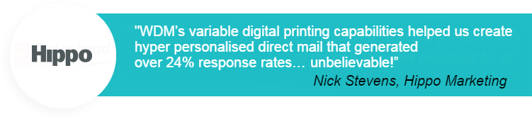 testimonial personal direct mail