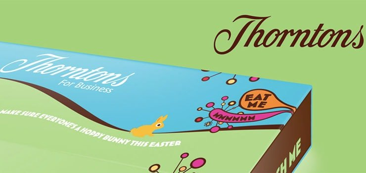 Easter Direct Mail - Thorntons